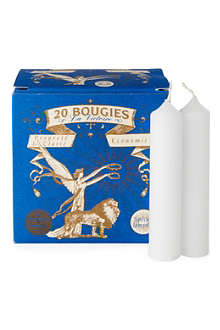 BOUGIES LA FRANCAISE Box of 20 'La Victoire' candles