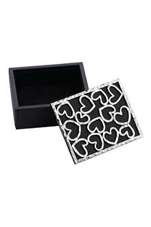 MICHAEL ARAM Heart mini jewellery box