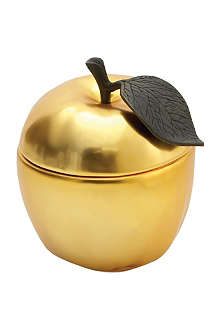 MICHAEL ARAM Apple sculpted candle