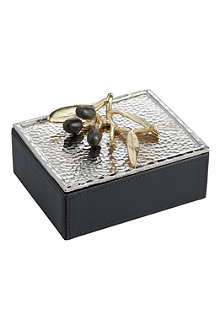MICHAEL ARAM Olive Branch mini jewellery box