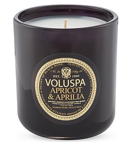 VOLUSPA Apricot & Aprilia candle