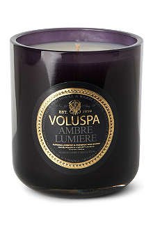 VOLUSPA Ambre Lumiere boxed candle 12oz