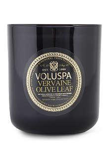 VOLUSPA Maison Noir Vervaine & Olive boxed candle