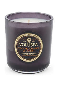 VOLUSPA Vaccaro Orange & Myrhh candle