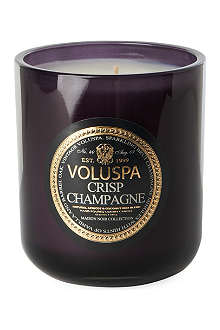 VOLUSPA Crisp Champagne boxed candle 12oz