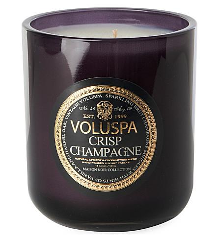 VOLUSPA Crisp Champagne boxed candle 12oz