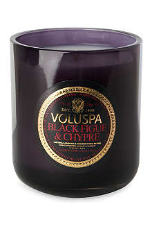 VOLUSPA Black Figue & Chypre boxed candle 12oz