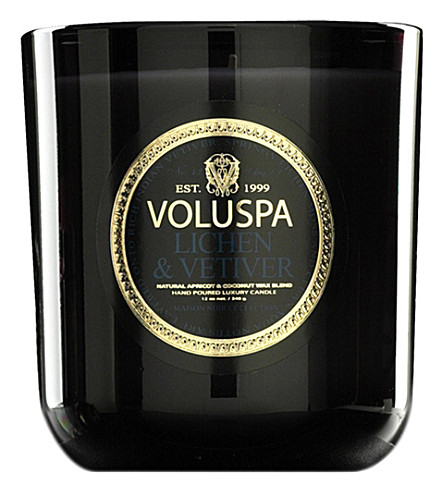 VOLUSPA Lichen & Vetiver classic maison candle