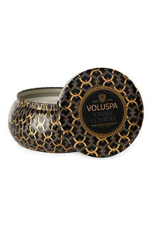 VOLUSPA Two wick Ambre Lumiere scented candle