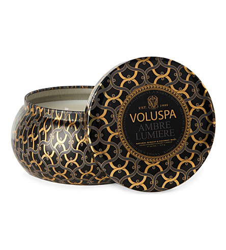 VOLUSPA Ambre Lumiere scented candle