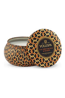 VOLUSPA Vaccaro orange & myrhh scented candle