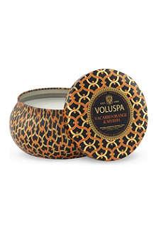 VOLUSPA Vaccaro orange & myrhh scented candle
