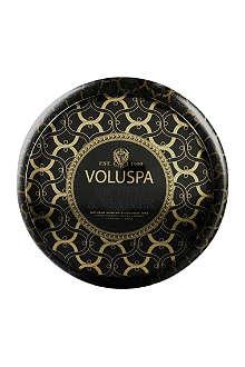 VOLUSPA Lichen & Vetiver two-wick candle