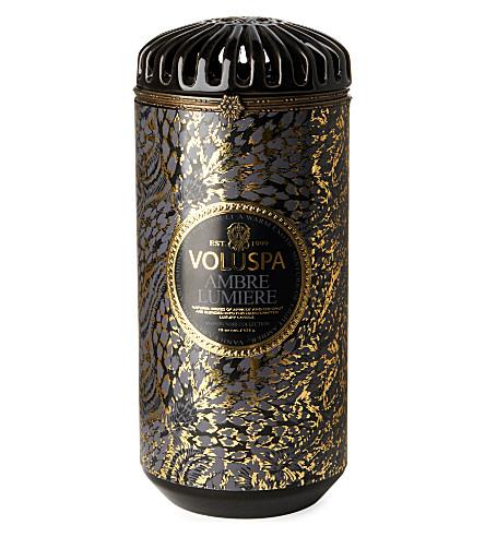 VOLUSPA Maison Noir ceramic candle Ambre Lumiere