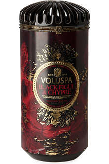 VOLUSPA Maison Noir ceramic candle Black Figue & Chypre