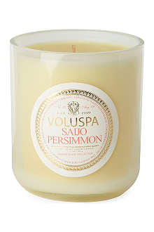 VOLUSPA Saijo Persimmon boxed candle 12oz
