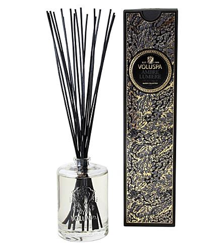 VOLUSPA Maison Noir Ambre Lumiere fragrance diffuser