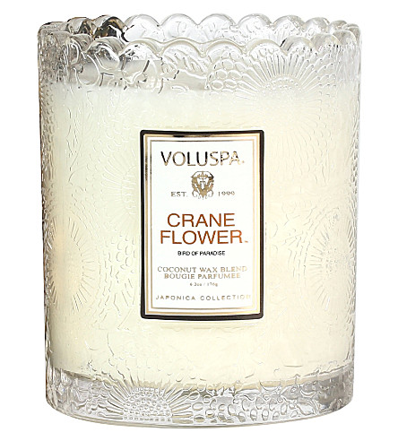 VOLUSPA Crane Flower votive candle