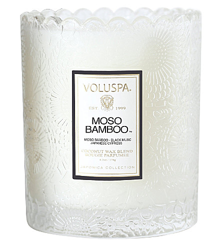VOLUSPA Moso Bamboo votive candle