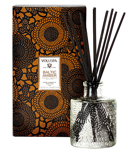 VOLUSPA Reed Diffuser- Baltic Amber 100ml