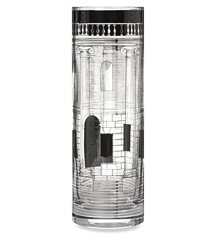 FORNASETTI Casa colonne glass vase