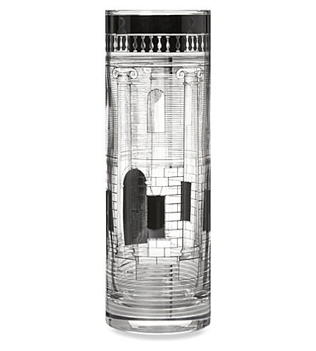 FORNASETTI Casa colonne glass vase
