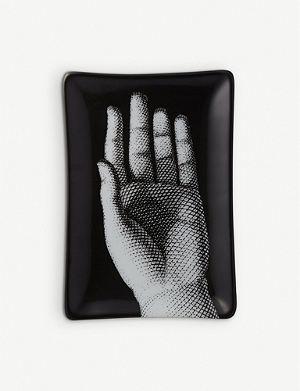 FORNASETTI Small hand design basin