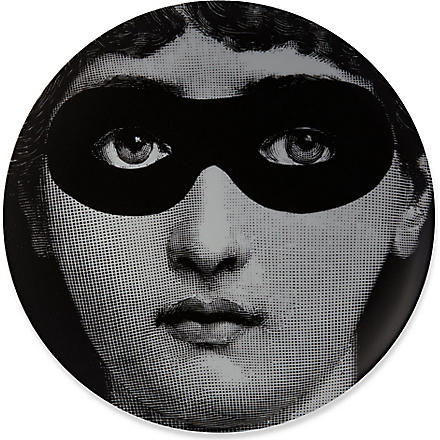 FORNASETTI Masked eyes wall plate