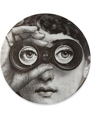 FORNASETTI Binoculars wall plate
