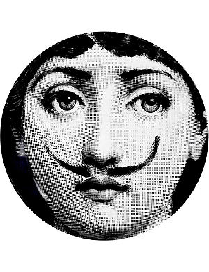 FORNASETTI T&V wall plate 21