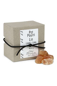 COTE BASTIDE Box of linen pot pourri crystals