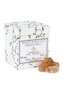 COTE BASTIDE Grapefruit pot pourri crystal box 400g