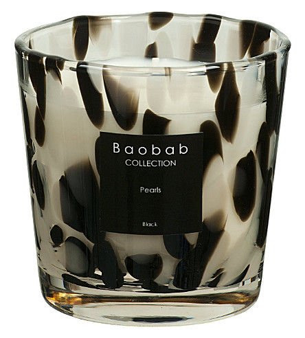 BAOBAB Black pearls max one scented candle