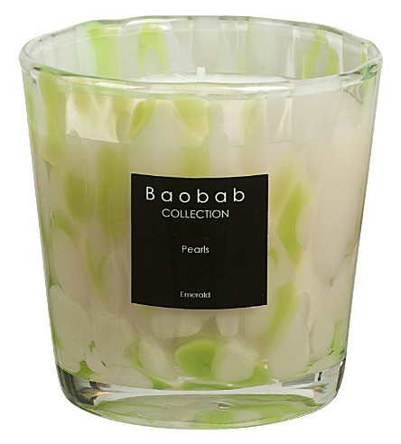 BAOBAB Emerald pearl max one scented candle
