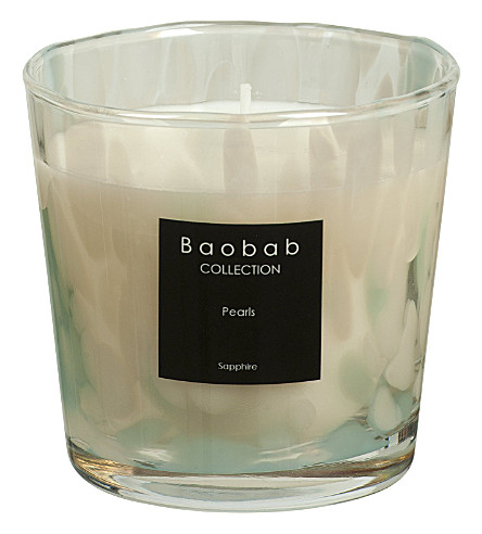 BAOBAB Sapphire pearl max one scented candle