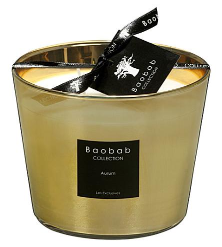 BAOBAB Aurum Max 10 scented candle