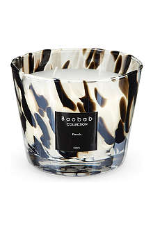 BAOBAB Black pearls candle