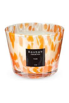 BAOBAB Orange pearls candle