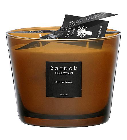 BAOBAB Cuir de Russie Max 10 candle