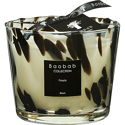 BAOBAB Black Pearls Max 10  candle