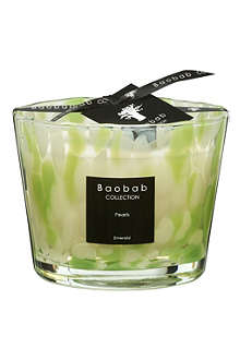 BAOBAB Emerald pearls scented candle