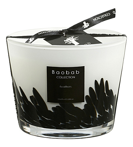 BAOBAB Feathers Max 10 scented candle