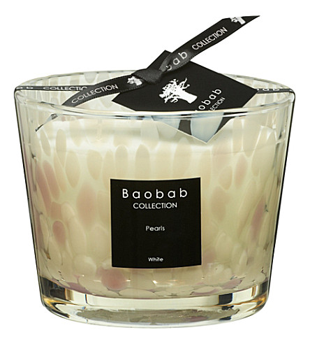 BAOBAB White Pearls Max 10 candle