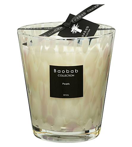 BAOBAB White Pearls Max 16 candle