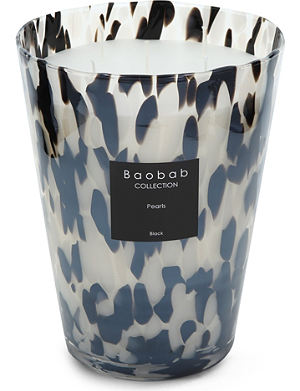 BAOBAB Black Pearls Max 24 candle