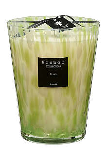 BAOBAB COLLECTION Emerald Pearls Max 24 candle