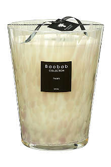 BAOBAB COLLECTION White Pearls Max 24 scented candle