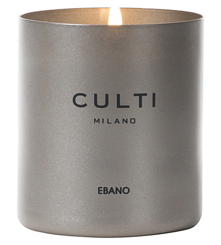 CULTI Ebano scented wax candle 235g