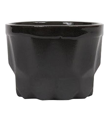 JOYA Prism Charcoal porcelain candle 112g