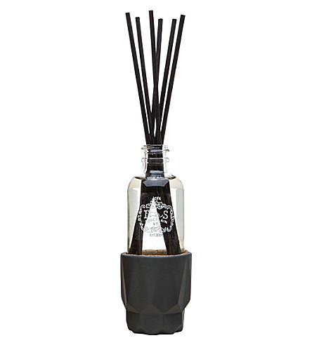 JOYA Prism Charcoal porcelain reed diffuser 2 oz
